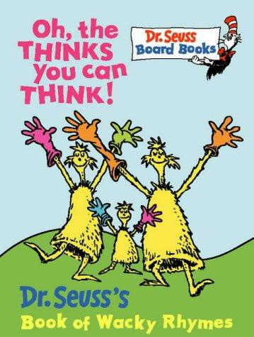 Download Oh, the Thinks You Can Think! (Dr.Seuss Board Books)