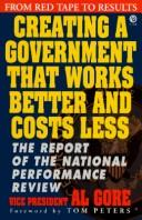 Creating a government that works better & costs less