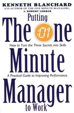 putting the one minute manager