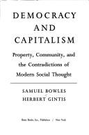 Democracy and capitalism by Samuel S. Bowles
