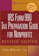 IRS form 990 by Jody Blazek