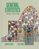 General statistics by Chase, Warren.